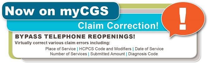 Claim Correction