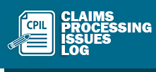 Claims Processing Issues Log